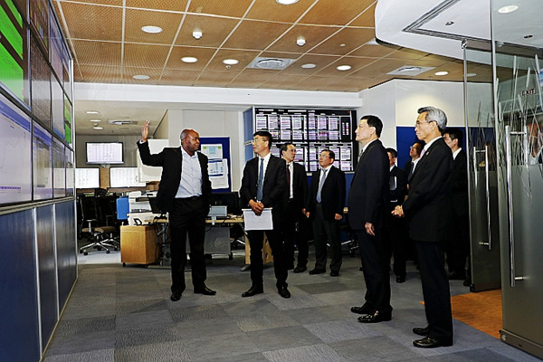 Xiao (2nd R) visits South Africa's state-owned power company Eskom.jpg