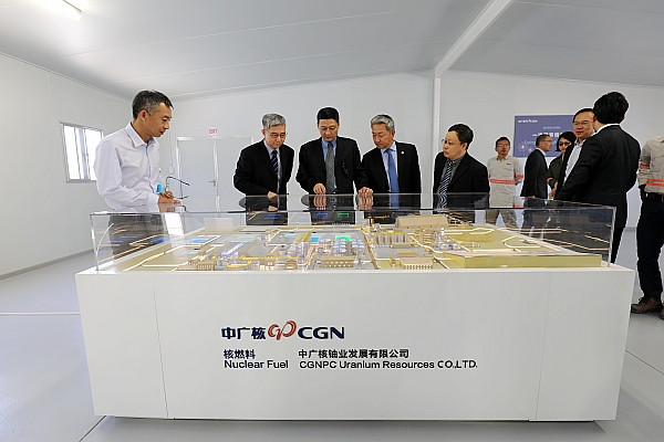 SASAC Chairman Xiao Yaqing conducts on-site inspection on the international operation, reform.jpg